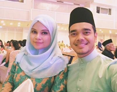 gambar Alif Satar dan isteri