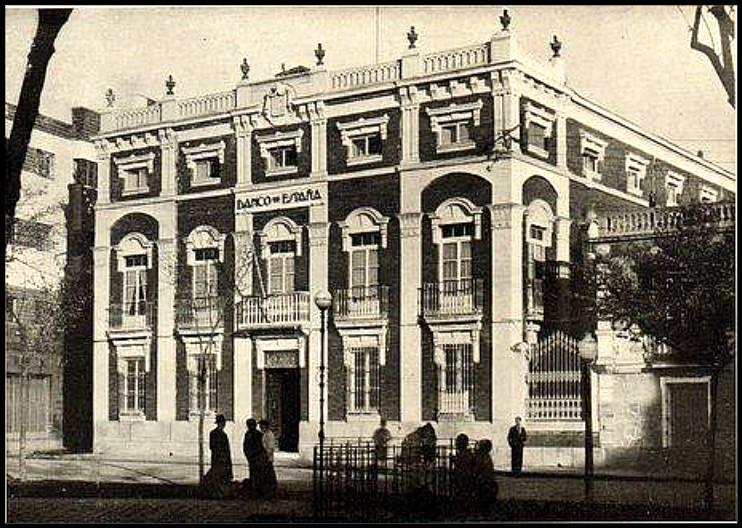 El sayon la sucursal del banco de espa a en ciudad real for Sucursales banco de espana madrid