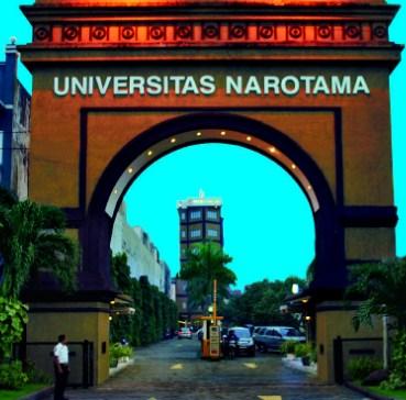 Hasil gambar untuk Universitas Narotama (UNNAR)
