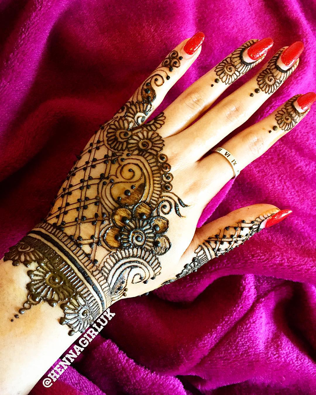 Henna Stencils: 125+ New Simple Mehndi/Henna Designs For Hands