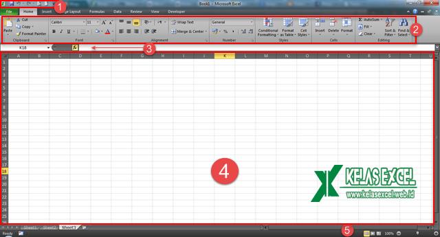 User Interface - Tampilan Excel