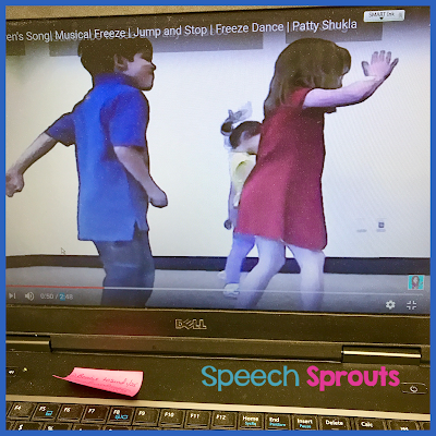Music and Movement Breaks for speech therapy mixed groups www.speechsproutstherapy.com