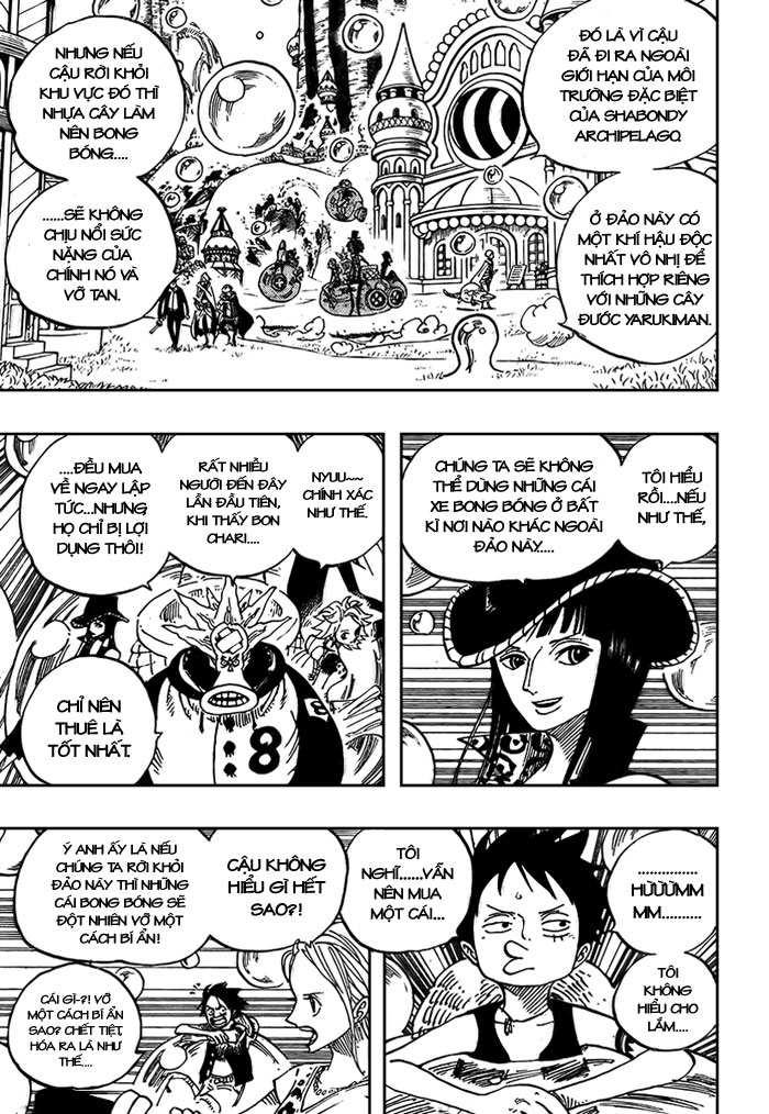 One Piece Chap 497