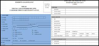 Formulir PUPNS (Pndataan Ulang Pegawai Negeri Sipil) Tahun 2015