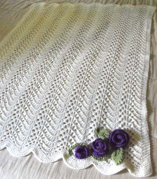 Beautiful Skills Crochet Knitting Quilting Feather Fan Baby