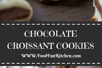 CHOCOLATE CROISSANT COOKIES #christmas #cookies