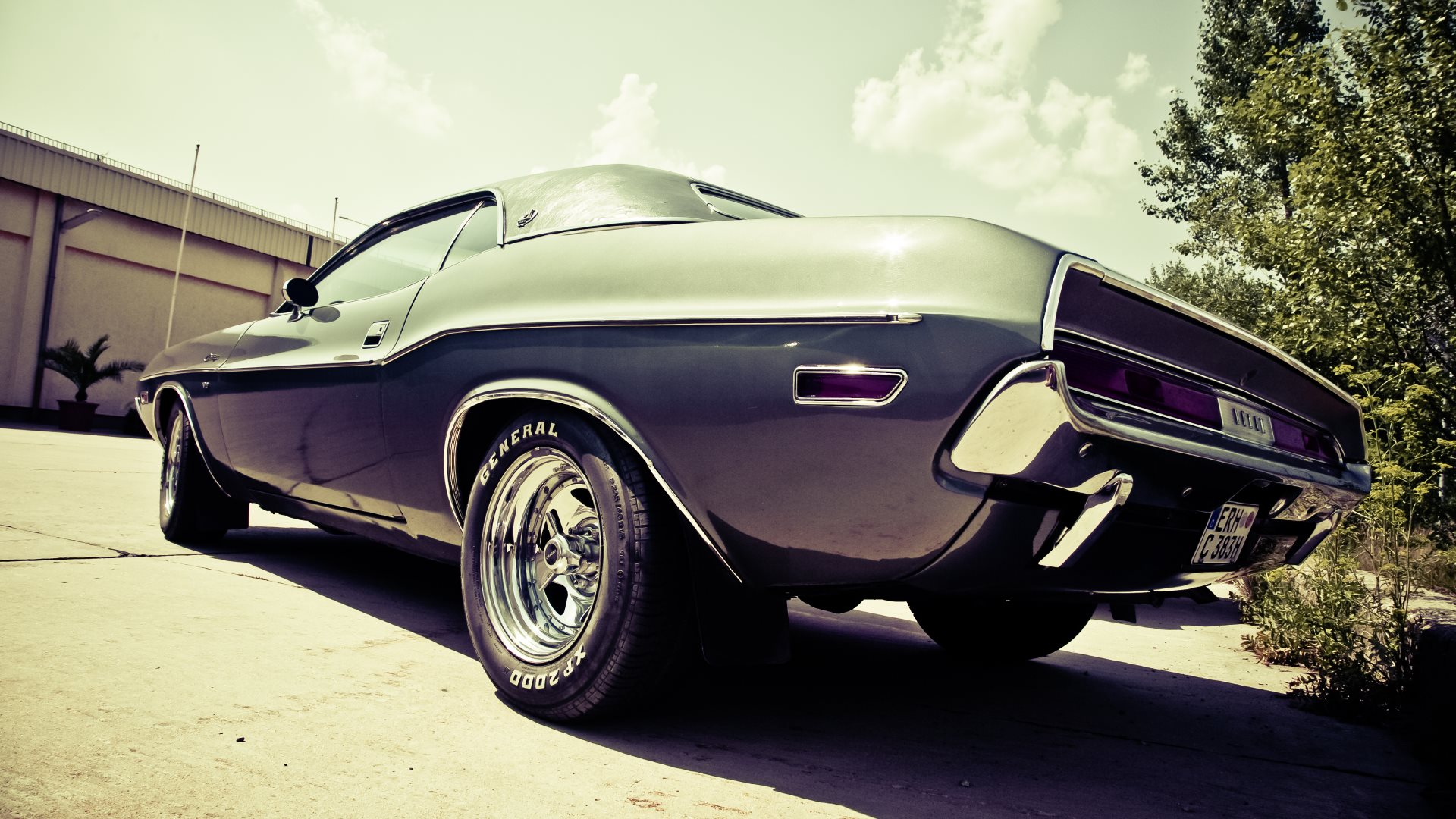 Old Timer Muscle Car Hd Wallpapers