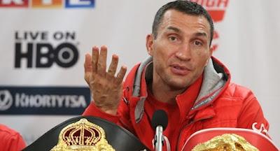 Владимир Кличко заявил о прекращении боксерской карьеры