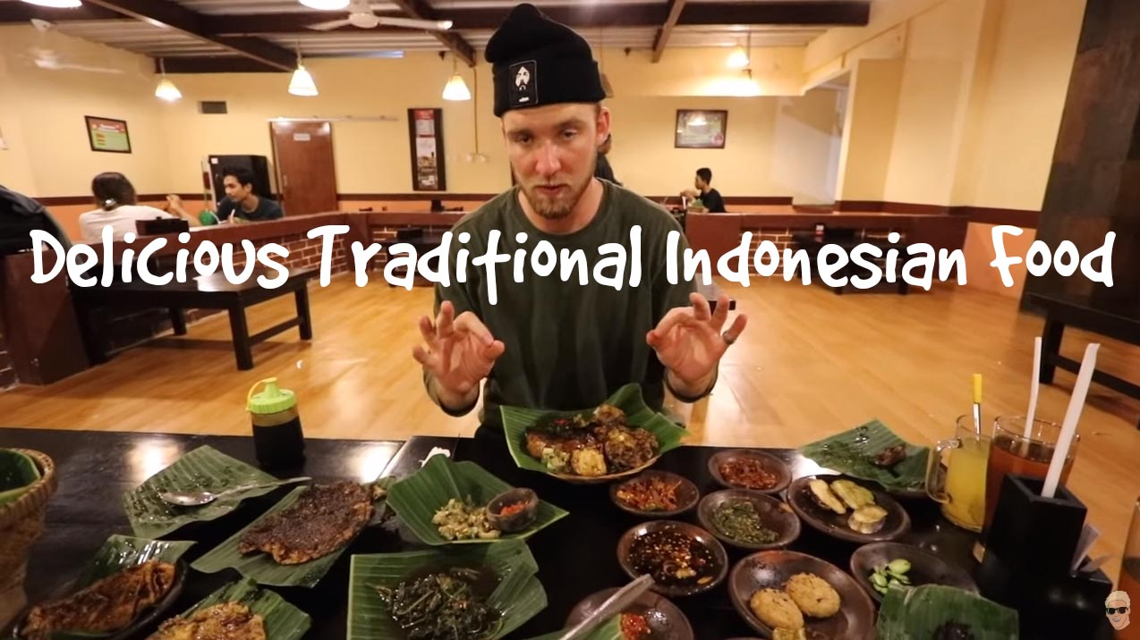 Delicious Traditional Indonesian Food In Bali