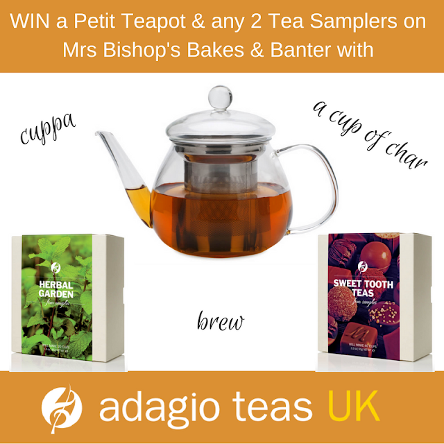 Win with Mrs Bishop and Adagio Teas