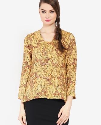 Model Blus Batik Teranyar