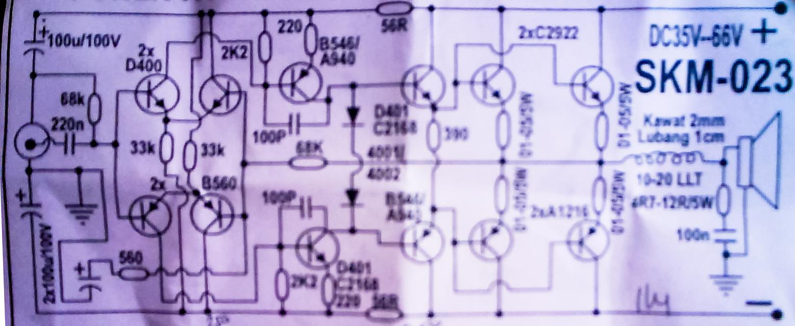 600 Watt Mosfet Power Amplifier With Pcb Schematic Diagram Schematic