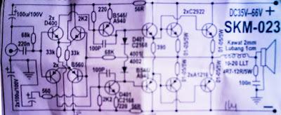 Rangkaian Power Amplifier 600 Watt - Wahyu Eko Romadhon