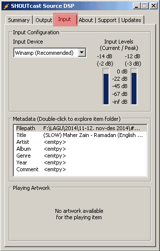 catatanikrom.blogspot.com Membuat Radio Streaming Shoutcast dengan Winamp Tahap 9