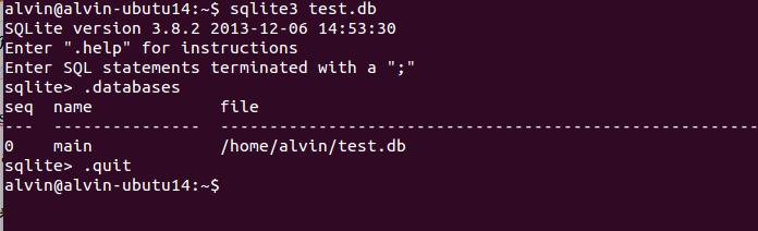 IT無限~程式筆記本: [Database] 在Ubuntu安裝sqlite和sqlitebrowser