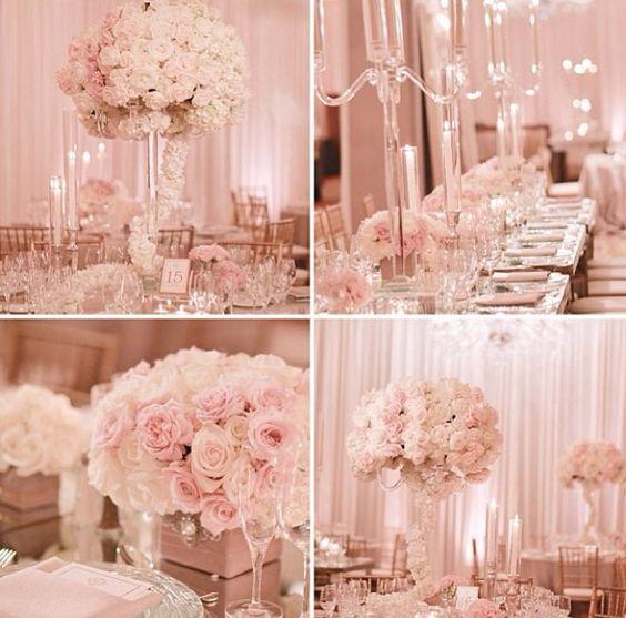Gold Wedding Decor Ideas: Fave Enthusiast : Gold Pink Wedding Table Decor