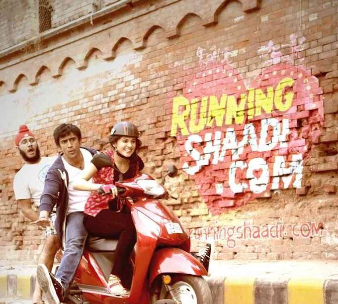 RunningShaadi.com Movie Trailer Released   Taapsee Pannu & Amit Sadh