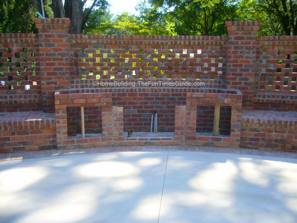 Brick Wall Fence Designs: Brick Box Image: มิถุนายน 2013