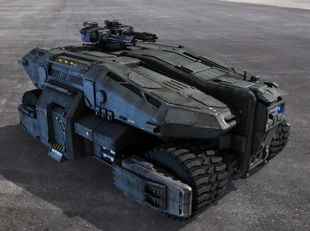 3dsMax高精度星球大戰4款飛船3D模型下載