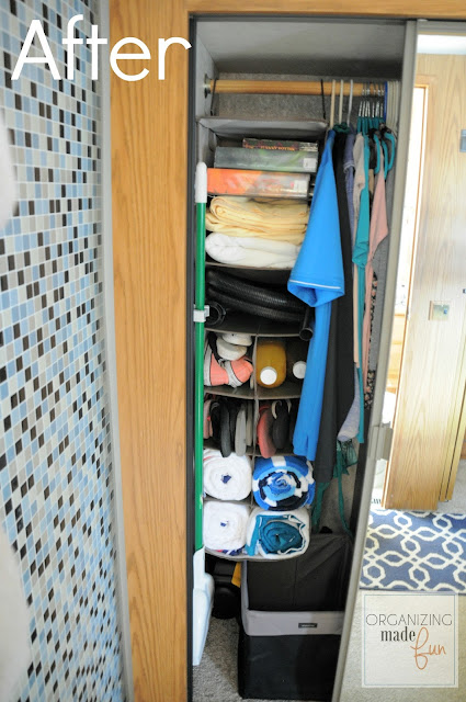 Closet Organizers For Rvs : Organizing those awkward small spaces in an rv giveaway