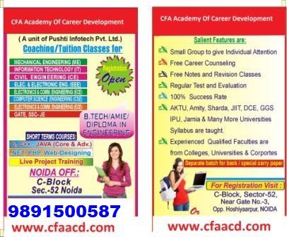 B Tech Tuition In Delhi Ncr Cfa Academy