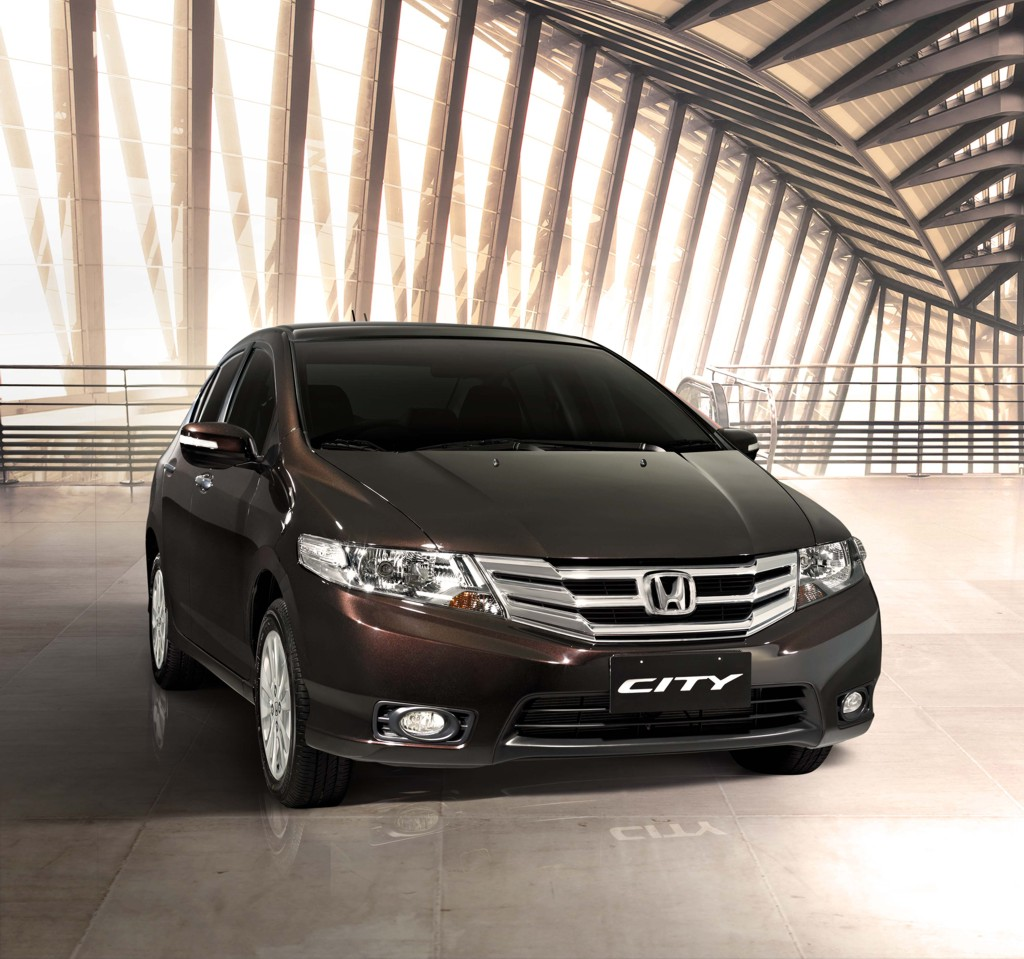 Honda Unveils 2012 City