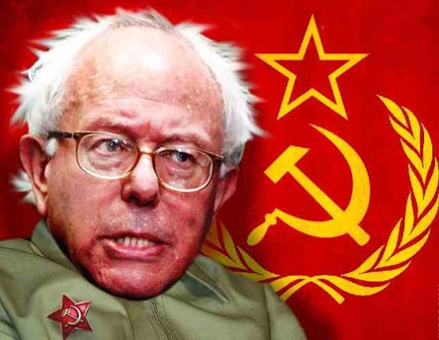 BERNIE GETS A BOOST FROM NAKED DRUNKEN COMMIE VID FROM 1988