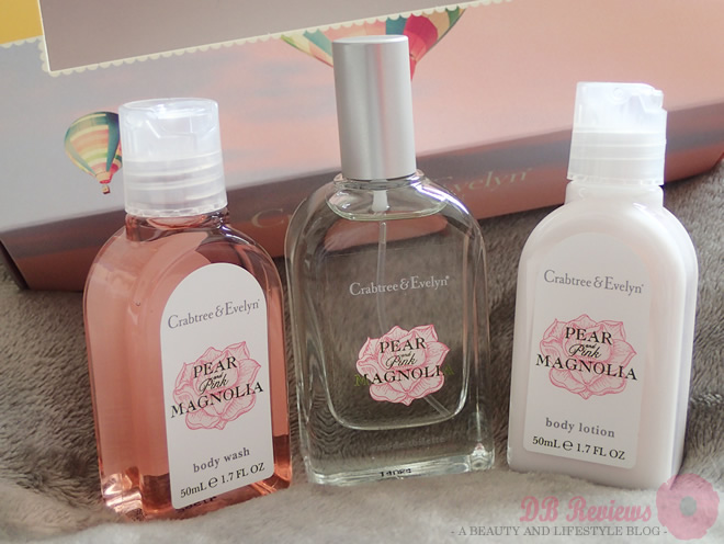 Crabtree & Evelyn - Pear and Pink Magnolia Collection