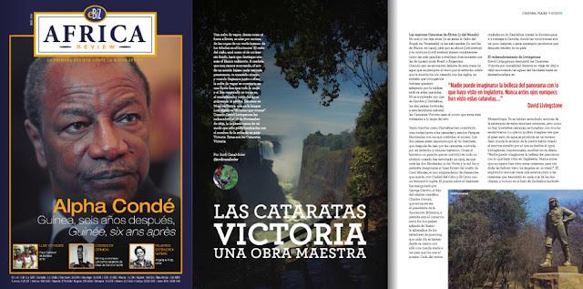 Reportaje Cataratas Victoria