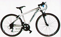 Sepeda Hibrid Element Hyperon 3.0 Rangka Aloi 27 Speed 700C