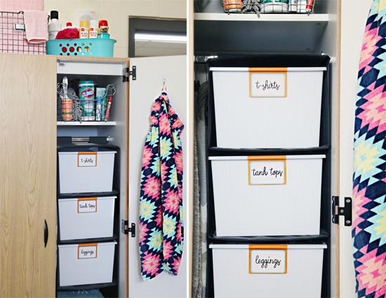 Iheart Organizing Back To School Dorm Room Organization Tips