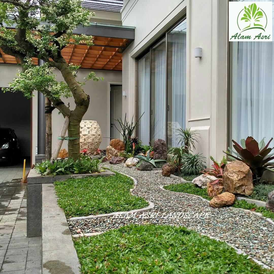 Desain Taman Kering Bernuansa Jepang Tukang Taman Surabaya Barat