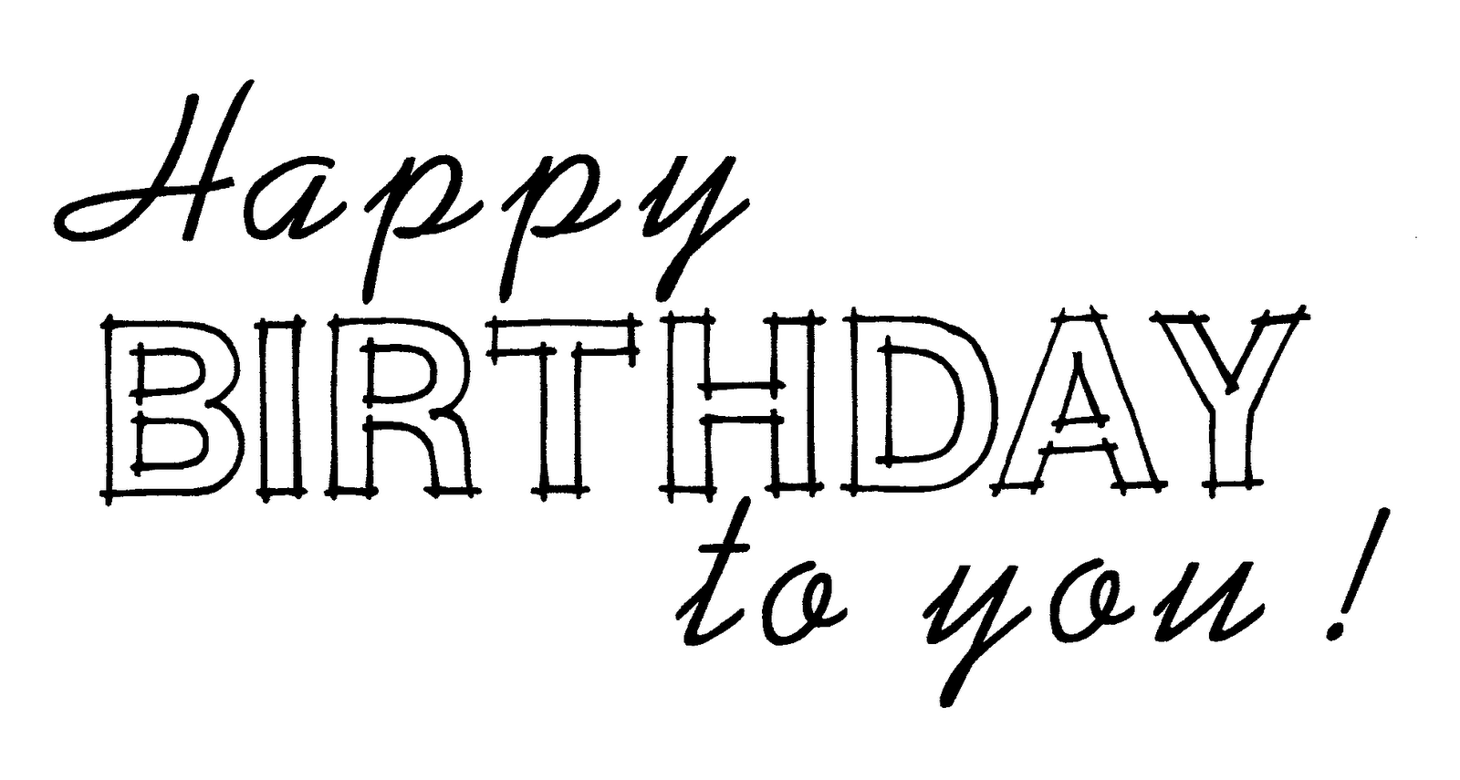 Desert Diva Happy Birthday To You