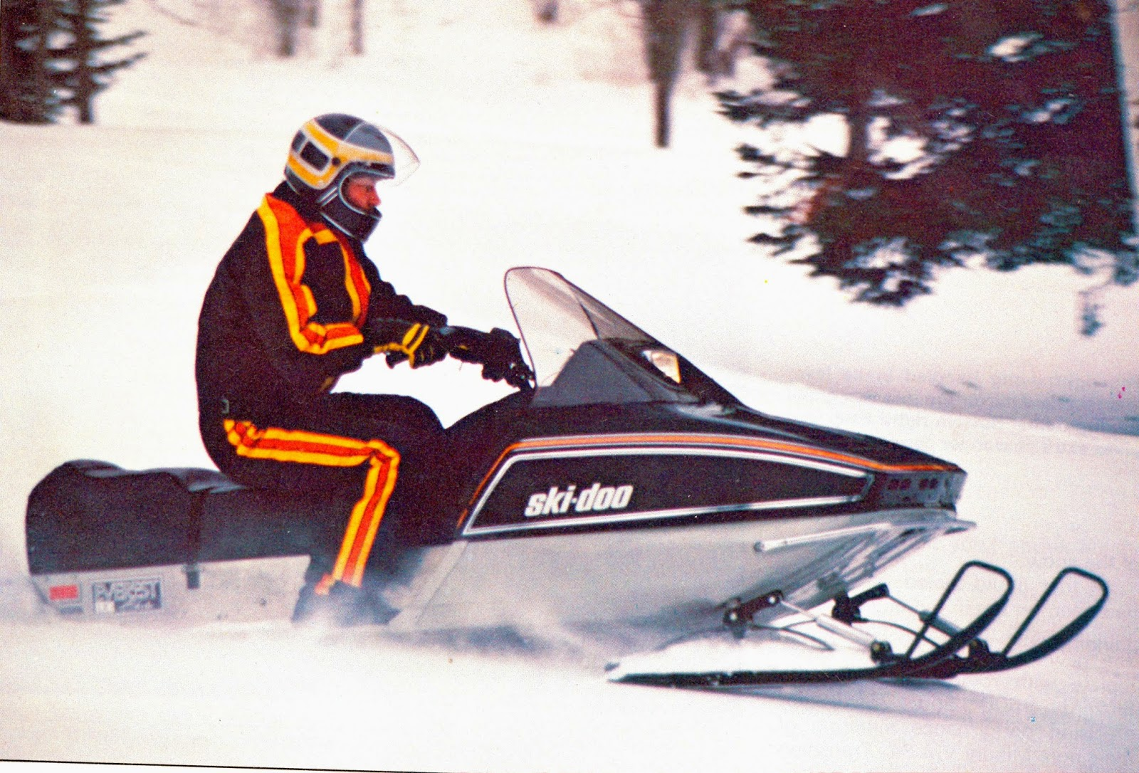 CLASSIC SNOWMOBILES OF THE PAST: THE 1980 SKI-DOO EVEREST L/C