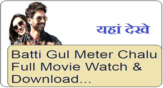 Batti Gul Meter Chalu 2018 Full Movie Watch & Download