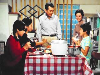 『若い川の流れ』第1話より。大坂志郎さんや加藤治子さんはこのドラマシリーズの常連ですね。