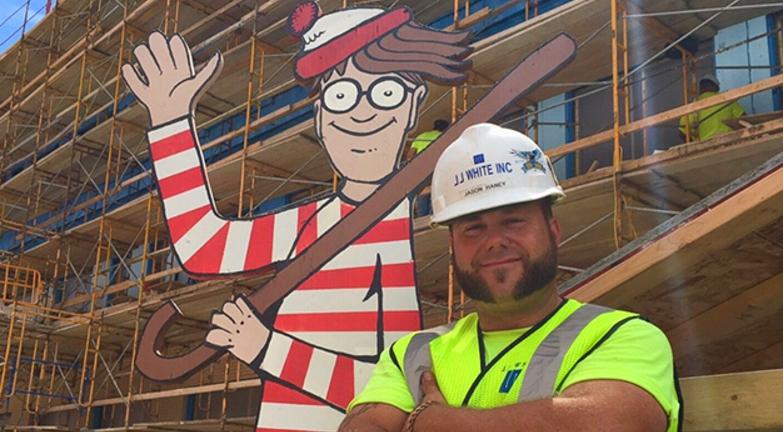 Onde está Wally nas construções