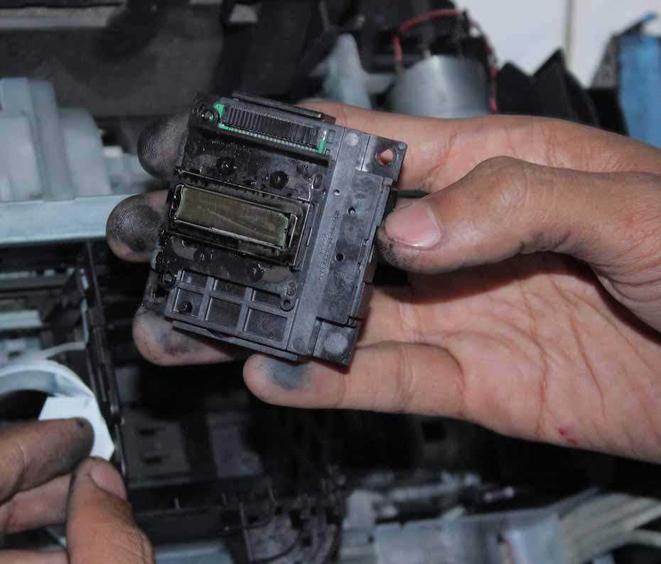 Cara Mengganti Head Printer Epson L110 L210 L300 L350 L355