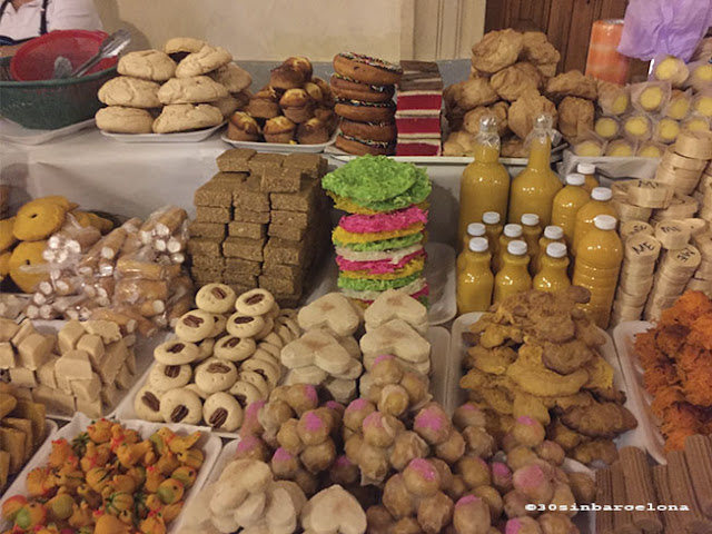 Sweets and cookies in San Cristobal de las Casas, Chiapas