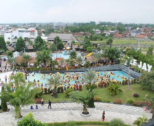 teejay waterpark wisata tasikmalaya