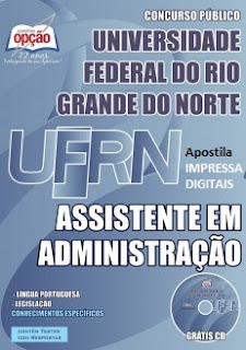 Apostila Concurso UFRN Assistente em Administração.