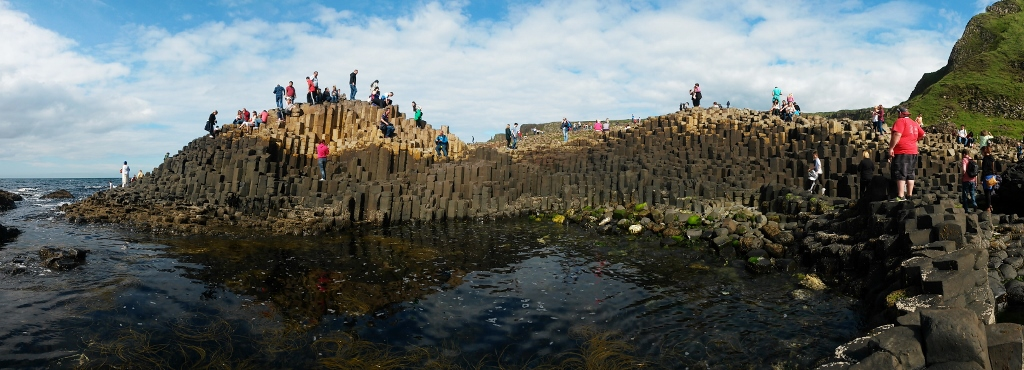 Stones of the Giant's Causeway, Tour of Ireland