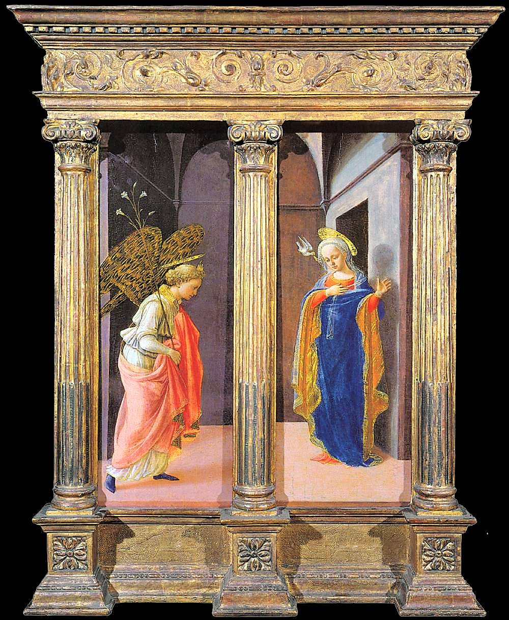 The Annunciation, Part VII, In the House