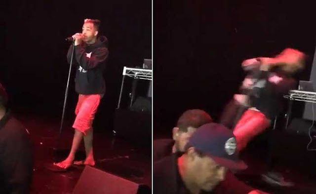 SEE IT: Rapper XXXTentacion knocked out on stage during show in San Diego
