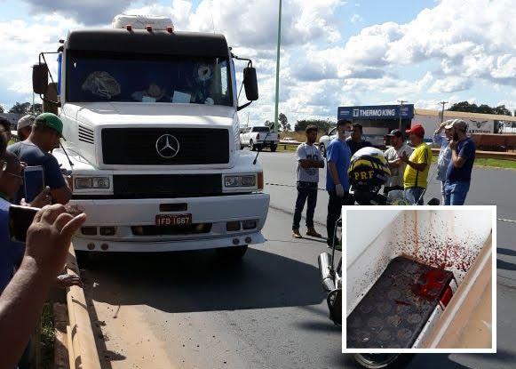 Bárbaro! Caminhoneiro é morto com pedrada na cabeça em rodovia de Rondônia