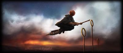 Harry Potter e il Prigioniero di Azkaban: Ron prova la Firebolt