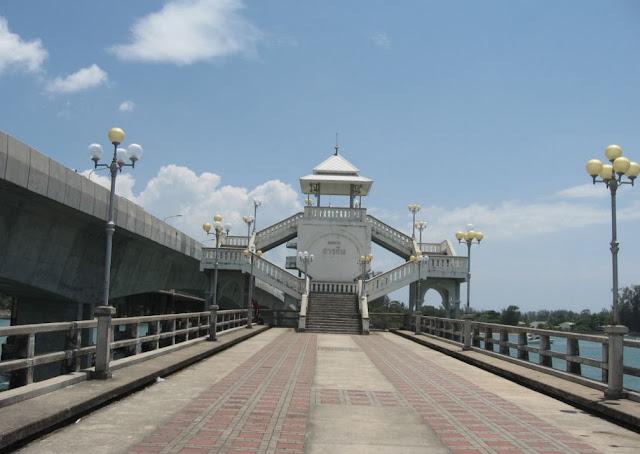 ชม สะพานสารสิน ภูเก็ต ก่อนกลับกรุงเทพฯ