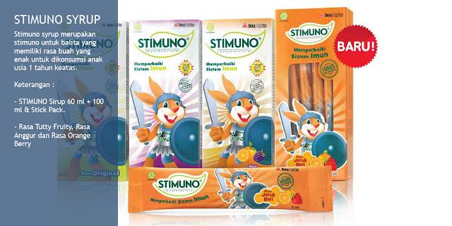Stimuno untuk balita varian syrup