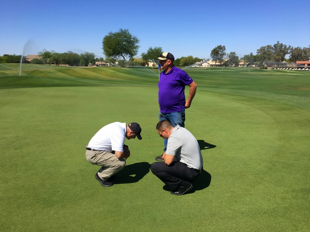 LAND OF LIQUID: Green Grass Where It Counts With AgroLiquid | AgroLiquid