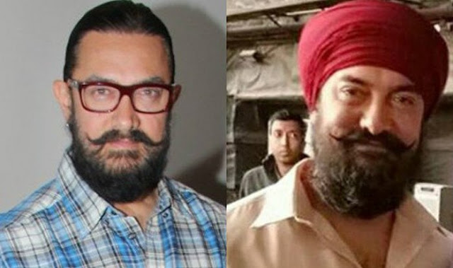 Aamir Khan New Look from 'Thugs Of Hindostan' Movie